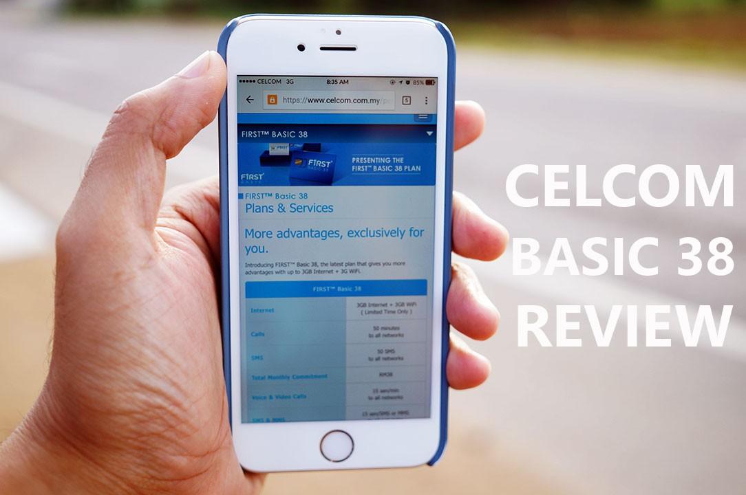 Celcom First Basic 38 Review – 'Killer' Postpaid Plan, RM38 sebulan untuk 3GB Internet