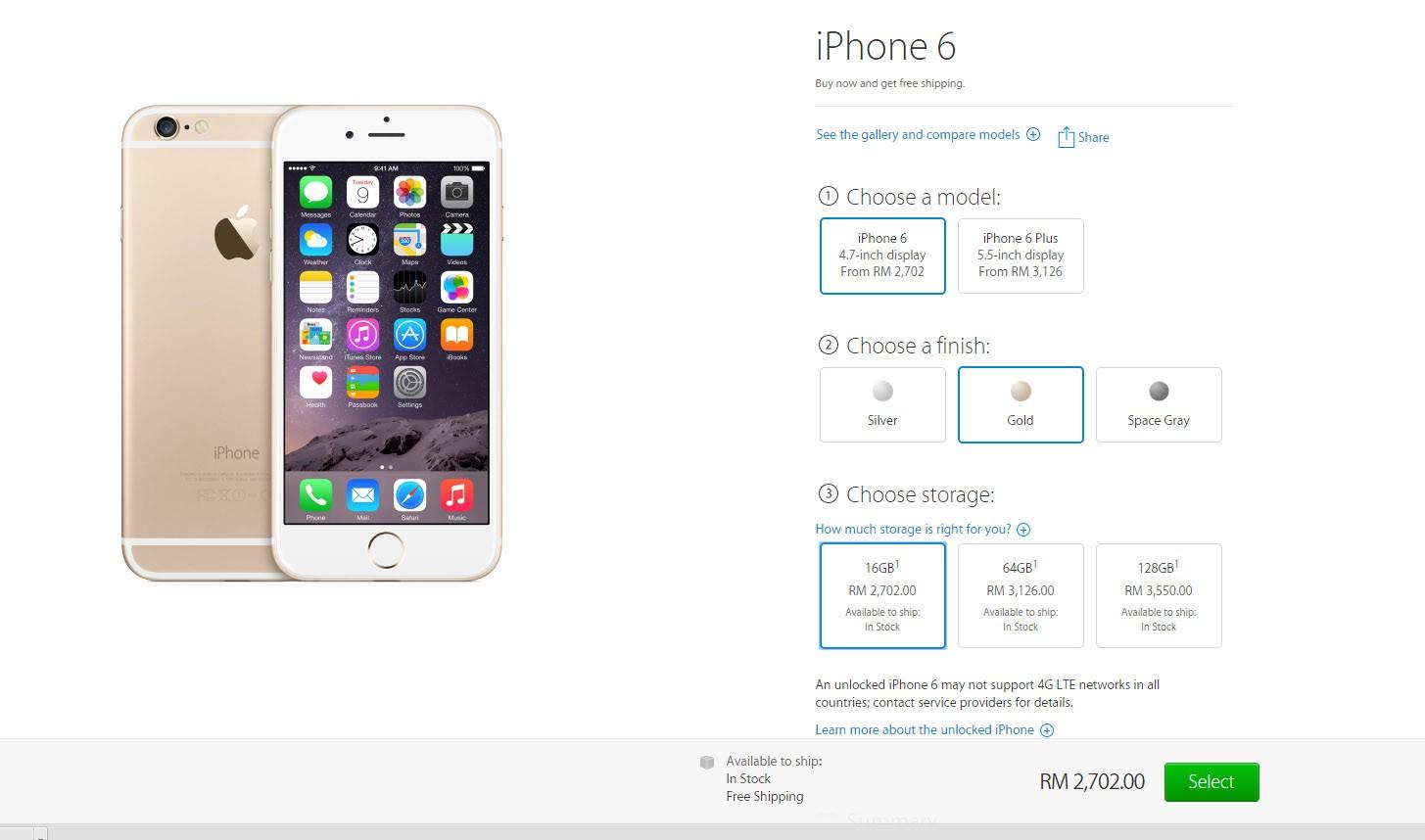 iphone 6 gst