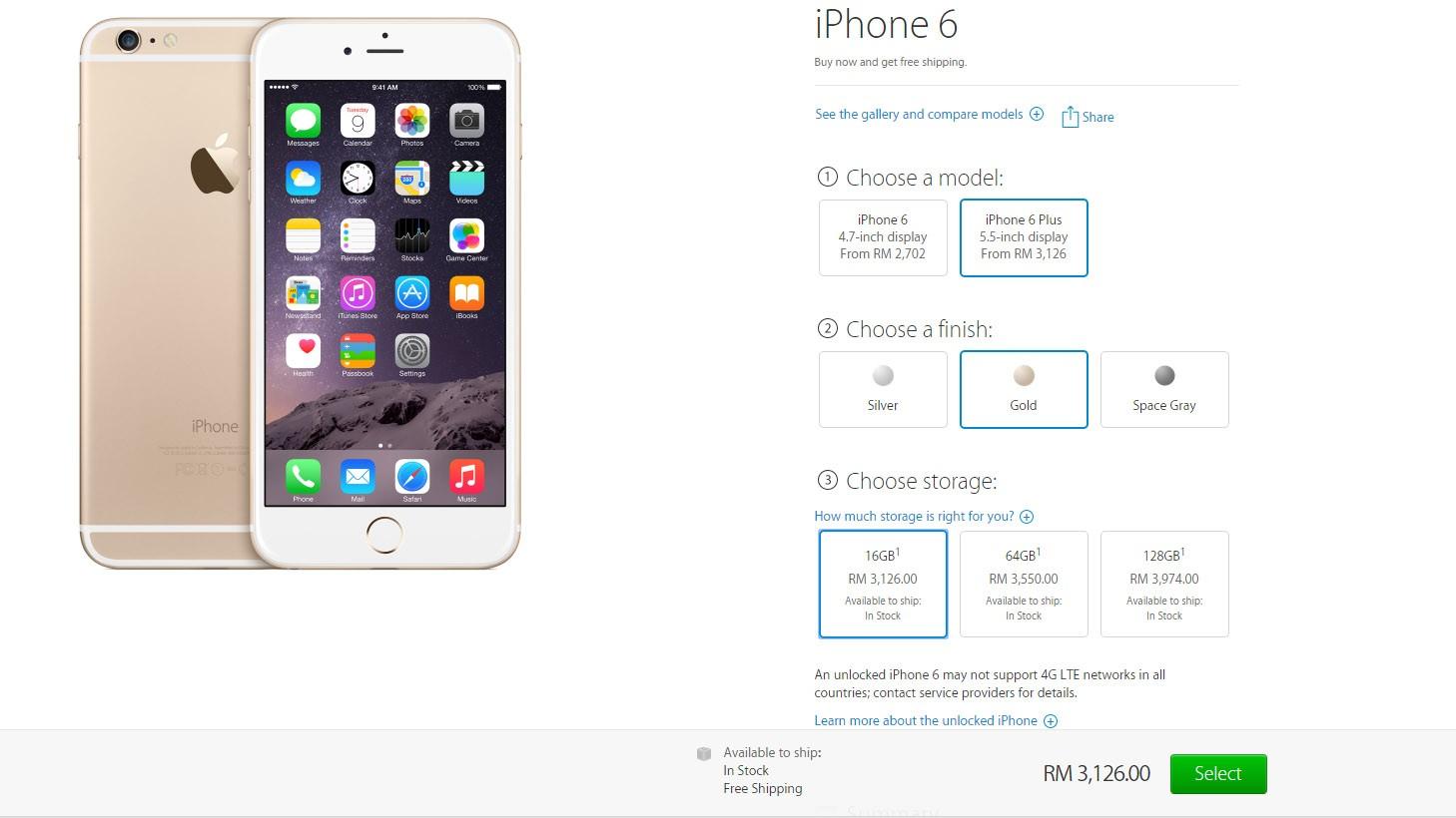 iphone 6 plus gst