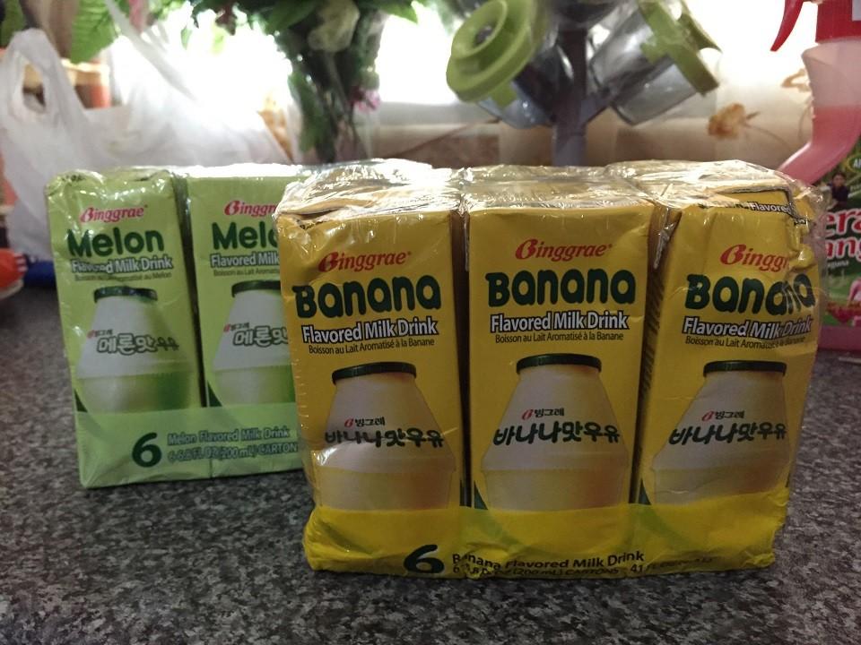 susu pisang korea