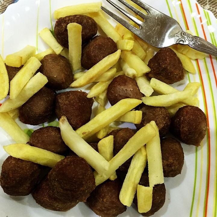 meatball fries air fryer