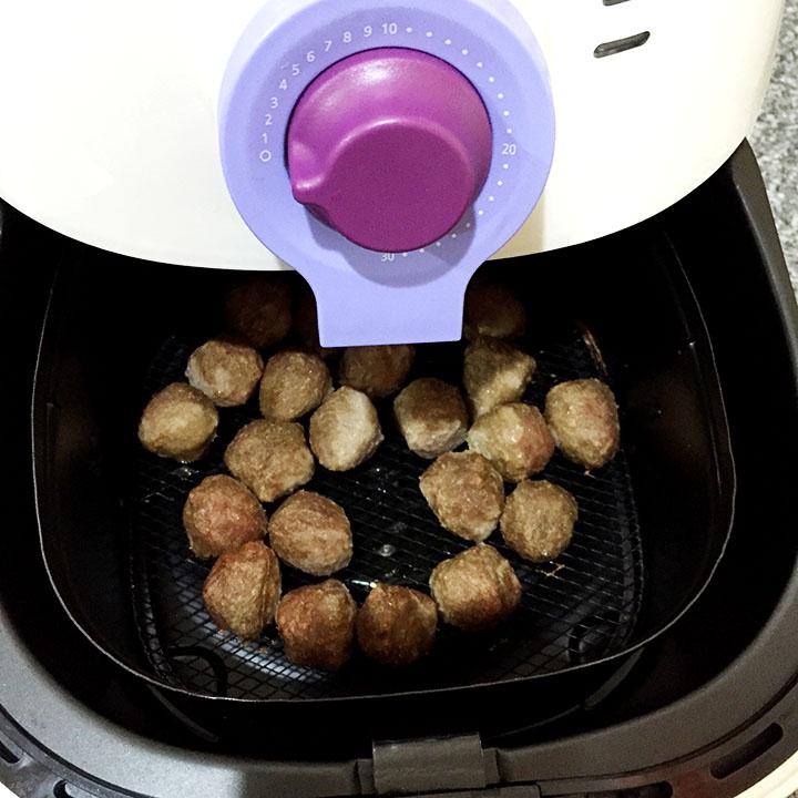 xma air fryer meatball