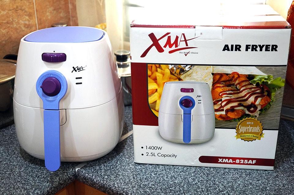 XMA Air Fryer Review – mudahnya memasak tanpa gunakan minyak