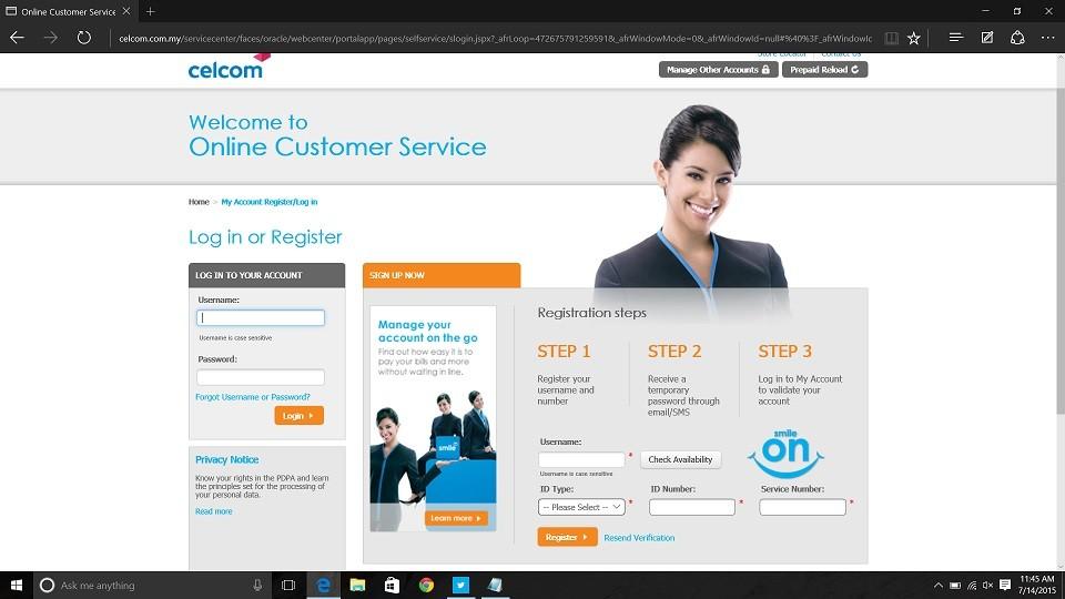 celcom online billing rebate