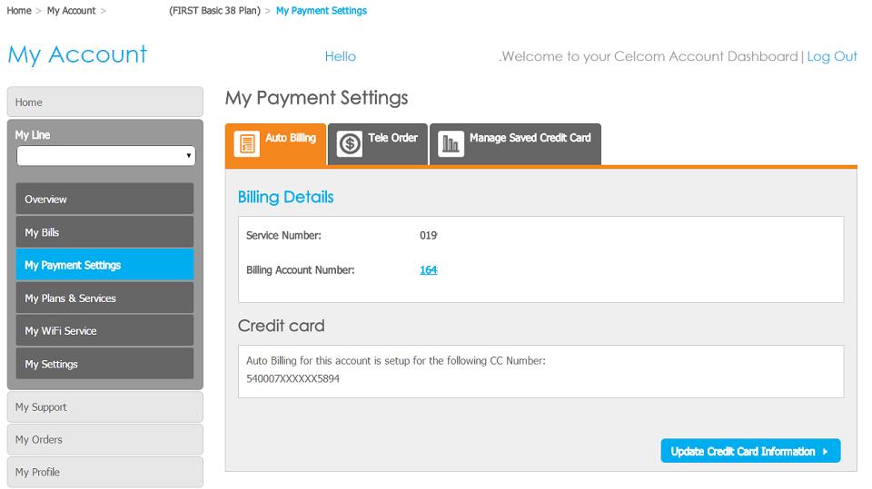 celcom rebate credit card