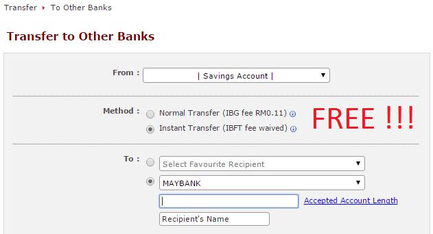 instant bank transfer online