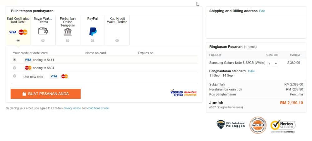 cara beli online lazada malaysia 7