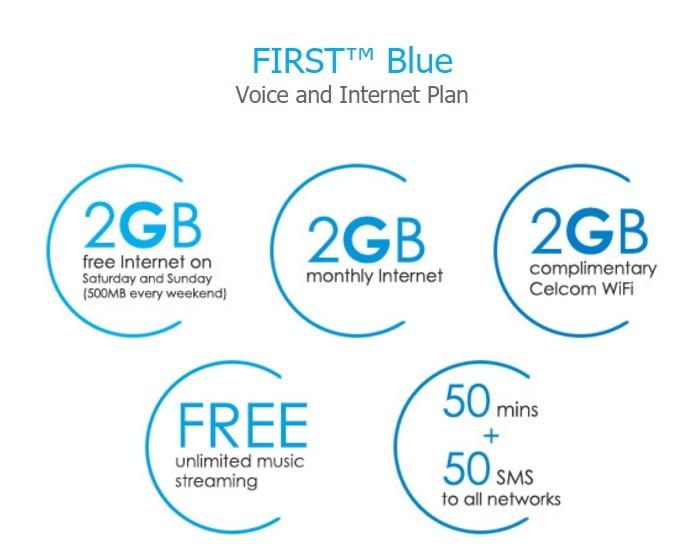 celcom blue postpaid review