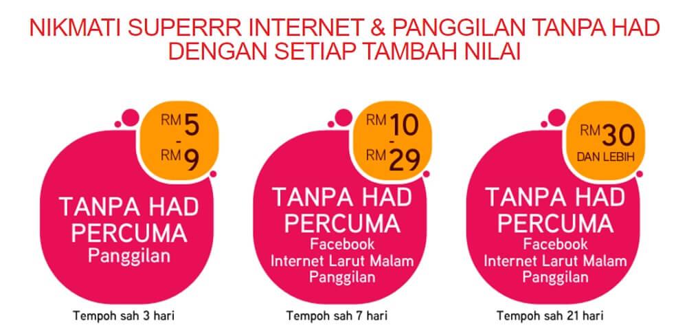 hotlink internet larut malam percuma
