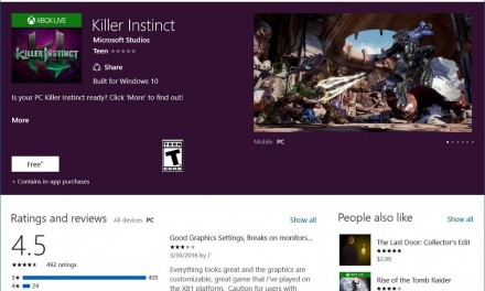 Killer Instinct Season 3 Kini Di Xbox One dan Windows 10 – Menyokong Cross Play