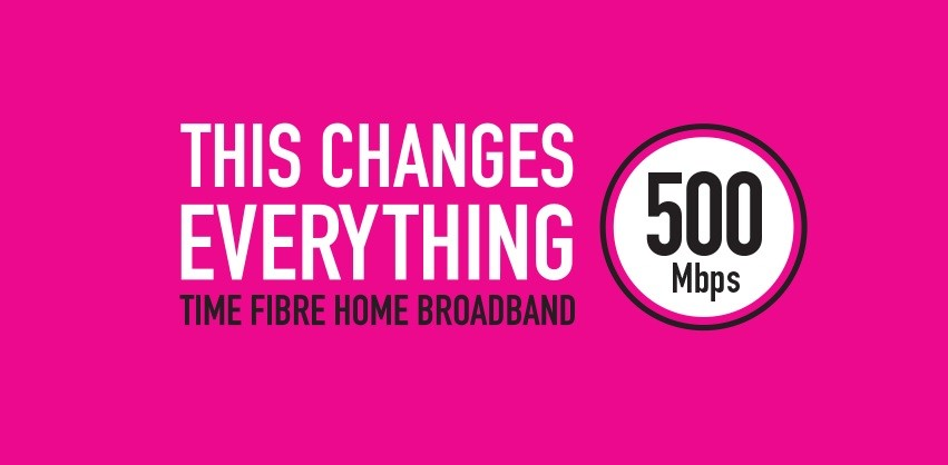 time fibre home broadband