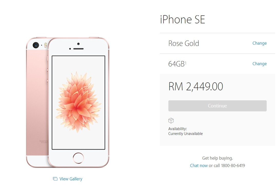 harga iphone se 64gb
