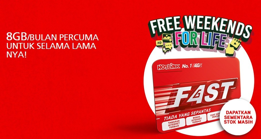 hotlink fast 2gb data percuma