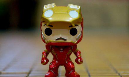 Iron Man Unmasked – Civil War Funko Pop Edisi Terhad