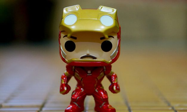 Iron Man Unmasked – Civil War Funko Pop Edisi Terhad