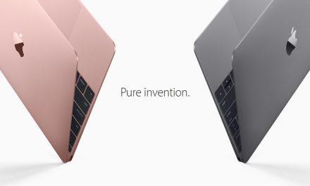 Macbook 12″ Generasi Baru Dengan Intel Core M Skylake Dilancarkan – Kini Dalam Warna Rose Gold