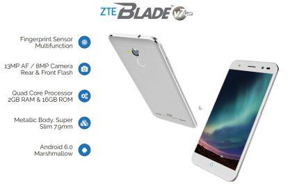 ZTE Blade V7 Lite – Smartphone Berharga RM499 Dengan Binaan Logam, Fingerprint Sensor, Selfie Flash dan 2GB RAM