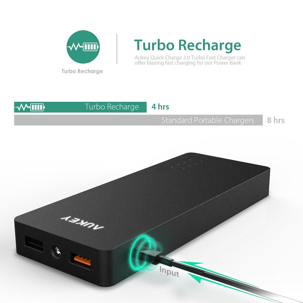 aukey fast charging powerbank