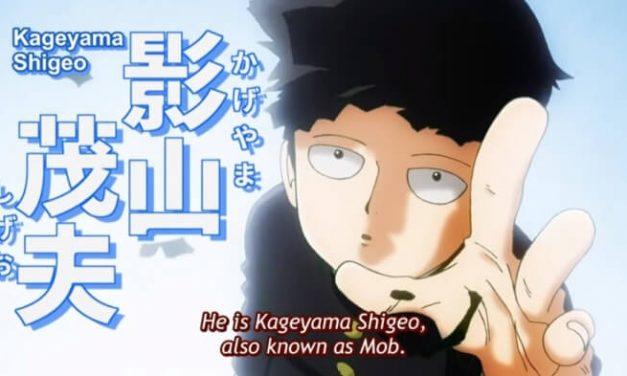 Mob Psycho 100 – Anime Comedy Shounen Daripada Pencipta Asal One Punch Man