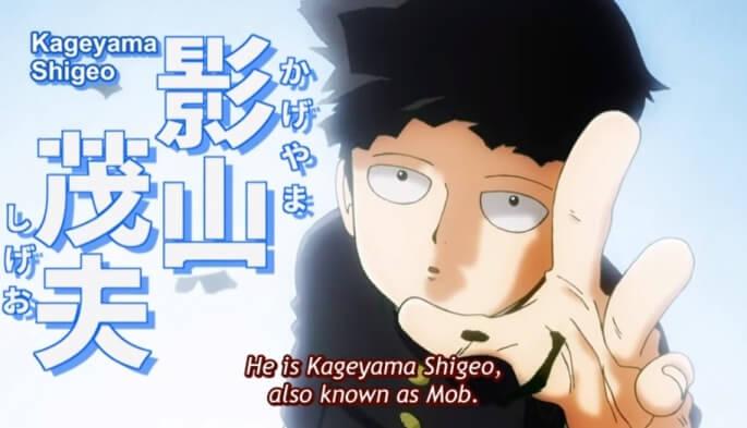 mob psycho 100 anime