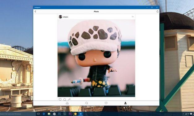 Instagram Melancarkan Aplikasi Rasmi Di Windows 10 PC