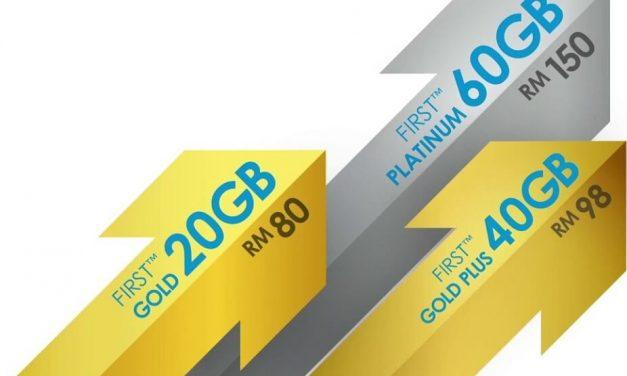 Celcom First Gold Postpaid Menawarkan 20GB Data Bermula Pada RM80 Sebulan