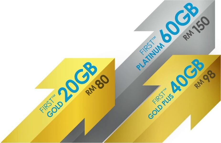 celcom first gold plus platinum postpaid
