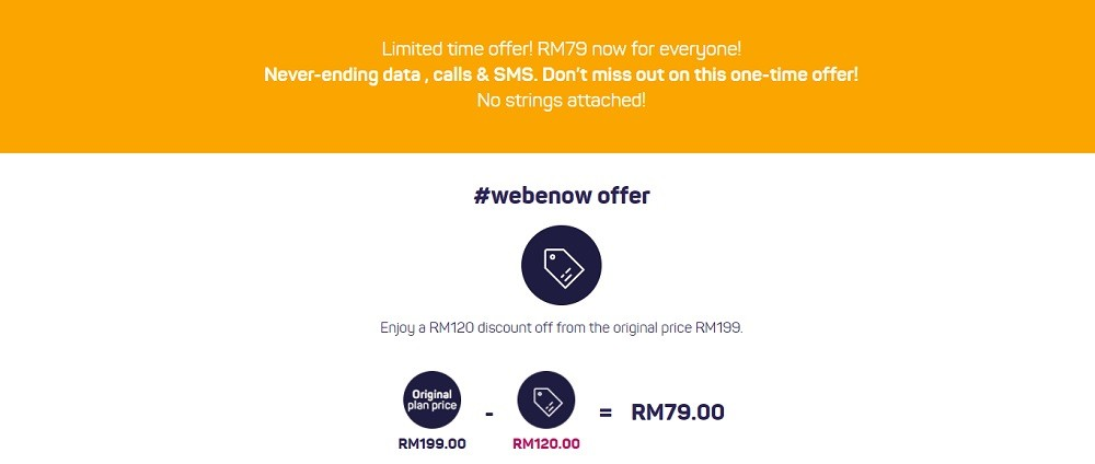 webe rm79 unlimited data plan