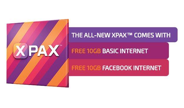 Xpax Melancarkan Plan Baru Dengan Lebih Kuota Data, Hanya RM50 untuk 10 GB Data
