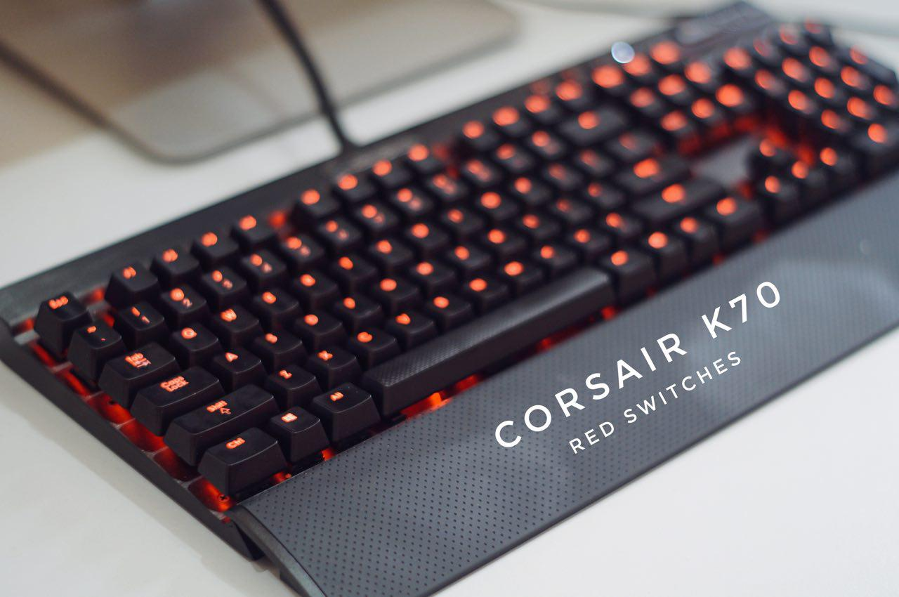 corsair k70 mechanical keyboard