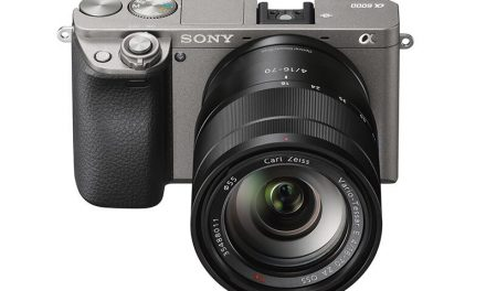 Kamera Sony A6000 Dalam Warna Graphite Gray Kini Dijual Di Malaysia