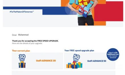 Unifi Free Speed Upgrade Diumumkan Oleh TM Sempena Kempen 'Thank You Suprise'