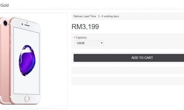 iPhone 7 dan iPhone 7 Plus Kini Lebih Murah – Diskaun Sehingga RM500 Berbanding Harga Biasa