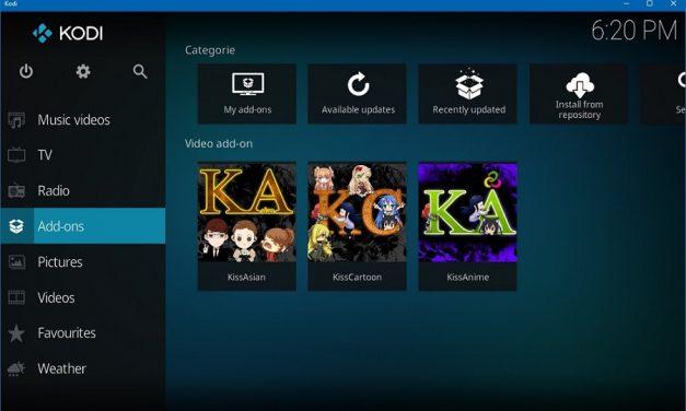 Kodi 17 Hadir Dengan Wajah Baru Yang Mesra Smartphone, Tablet dan Android TV