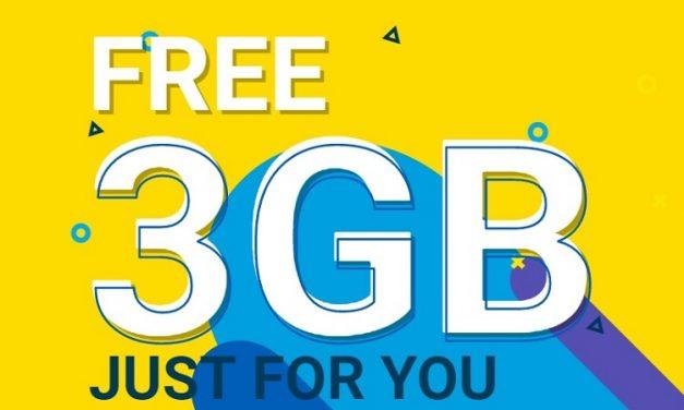 Digi Memberikan 3GB Data Internet Percuma Untuk Pengguna Aplikasi MyDigi Baru