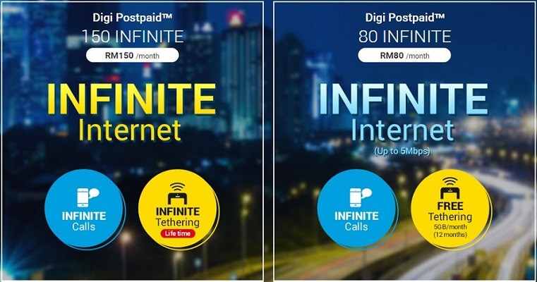 digi unlimited data plan