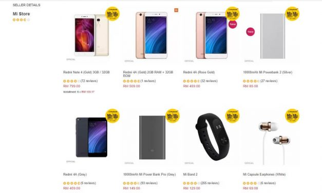 Mi Store Menawarkan Diskaun Sehingga 12% Untuk Redmi Note 4, Redmi 4A, Mi Box Dan Banyak lagi
