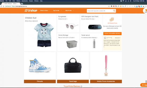 Pengalaman Online Shopping Di Taobao China Menggunakan SGshop Malaysia