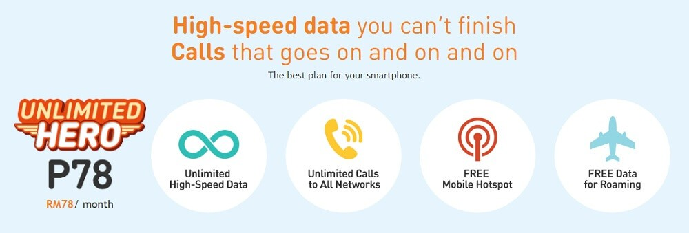 umobile p78 unlimited data