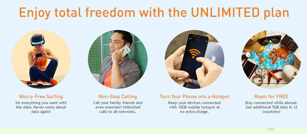 umobile unlimited hero postpaid p78