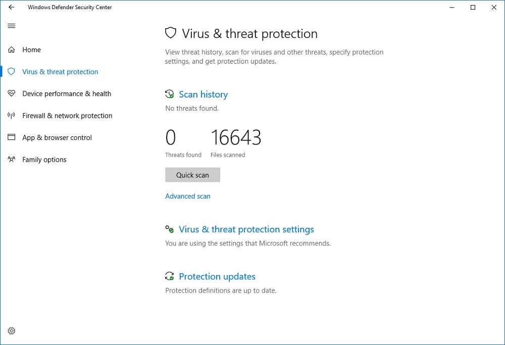 wannacry windows defender