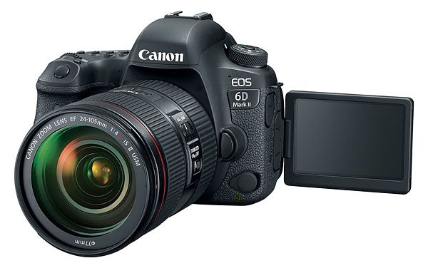 Canon 6D Mark II Diperkenalkan Secara Rasmi – 26.2MP Full Frame Sensor, Articulated Touchscreen, 1080p 60 fps Video