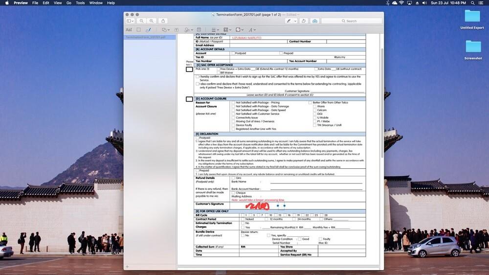 cara isi dokumen pdf