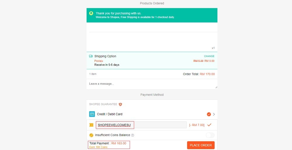 shopee malaysia online banking