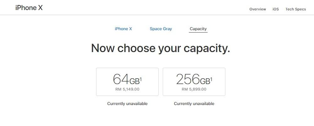 harga iphone x malaysia