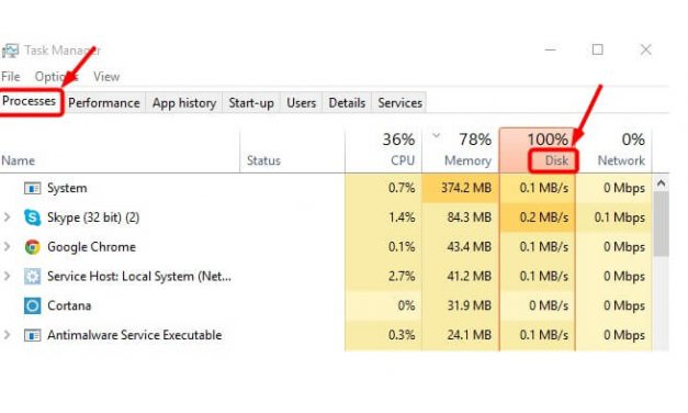 Cara Mengatasi Masalah 100% Disk Usage Di Windows 10