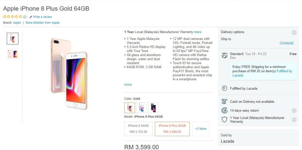 iphone 8 plus murah