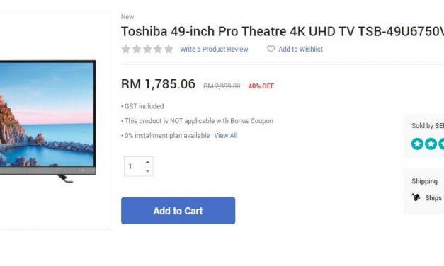 Dapatkan PS4 Pro, PS4 Slim dan TV Pada Harga Murah Sempena 12/12 Online Revolution