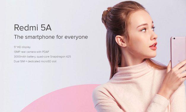 Dapatkan Xiaomi Redmi 5A Pada Harga Serendah RM314