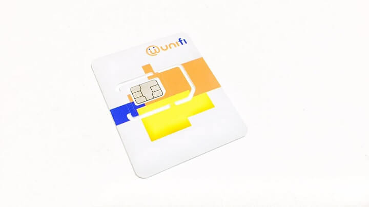 unifi mobile sim card